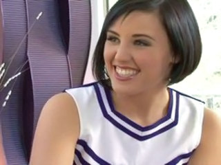 Dame Cheerleader Schattig Tiener Uniform