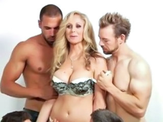 Big Tits Gangbang Lingerie MILF Mom Old and Young