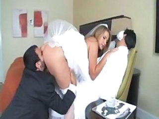 Ass Bride Clothed Cuckold Licking MILF Pornstar