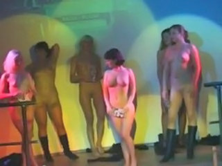Amateur Dancing Nudist Party Public Russian Teen