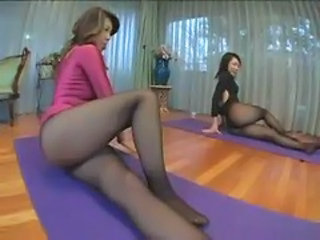 Asian Legs MILF Pantyhose