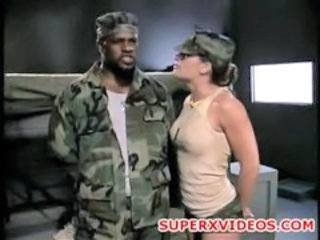 Army Interracial MILF