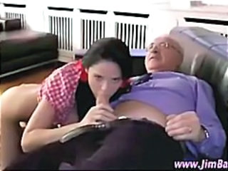 Blowjob Daddy Older Old and Young Teacher