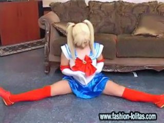 Flexible Pigtail Stockings Teen Uniform