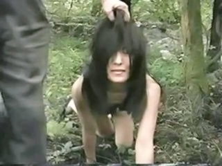 Outdoor Slave Teen