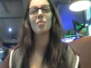 Glasses Pov Public Teen