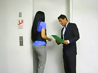 Asian Car Office Teen