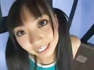 Asian Cute Pigtail Teen