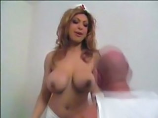 Big Tits MILF Natural Nurse