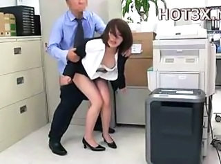 Asian Clothed Japanese Office Secretary