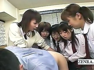 Asian CFNM Japanese Student Teen Uniform
