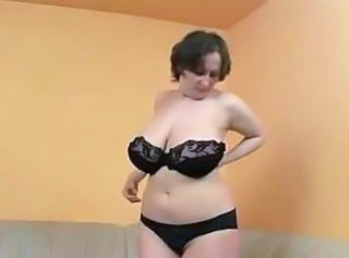 Big Tits Lingerie Mature Natural SaggyTits