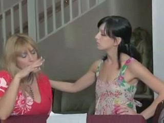 Lesbian MILF Old and Young Teen