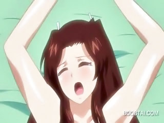 Anime beauty cumming and getting strong orgasm