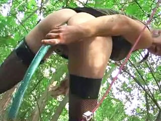 Enema in the forest