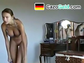 Amateur German Stripper Teen