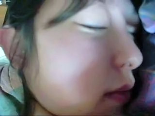 Asian Sleeping Strapon Teen Young