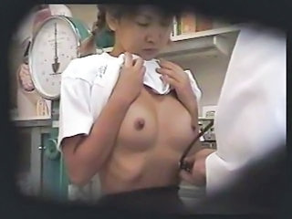 Asian Doctor  Nipples Voyeur