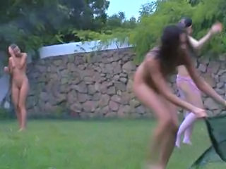 Lesbian Nudist Outdoor Russian Teen