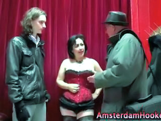 Amateur Corset MILF Old and Young