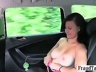 Big Natural Tits Amateur Teen Sex In Public With Her Taxi Driver