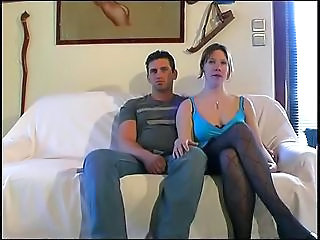 Amateur Casting Stockings Wife