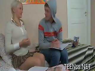Juicy Teen Welcomes Big Cock