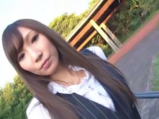 Asian Japanese MILF Office Outdoor Secretary