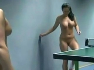 Unconcealed SEXY GIRLS PLAYING PING PONG
