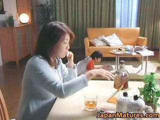 Asian Drunk Japanese MILF Mom Old and Young