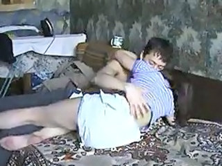 Homemade Kissing Russian Teen