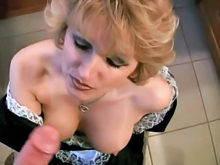 Bathroom Blowjob Mature Mom Natural Pov