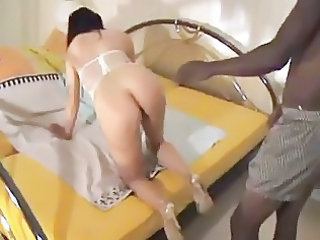 Amateur Ass Interracial Mature Wife