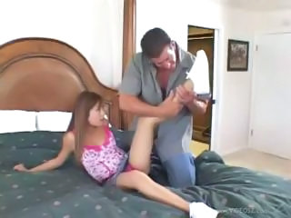Asian Daddy Old and Young Teen