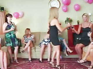 Drunk Mature MILF Party
