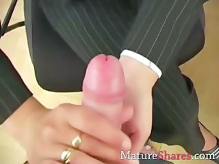 Handjob Mature Older Pov Secretary