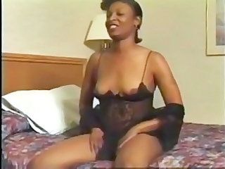 Ebony Lingerie Mature