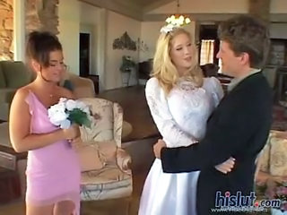 Bride Threesome Uniform