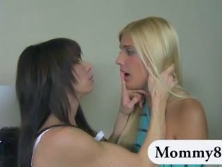 Daughter Lesbian Mature Mom