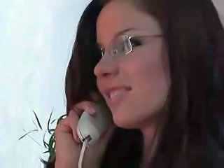 Glasses Secretary Teen