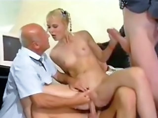 Babe Daddy Gangbang Old and Young Small Tits Teen