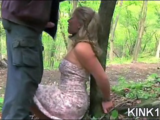 Bondage Outdoor Slave