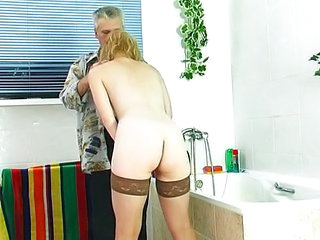 Ass European German Old and Young Stockings