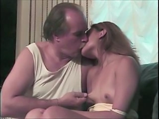 Daddy Daughter Kissing Old and Young Small Tits Teen