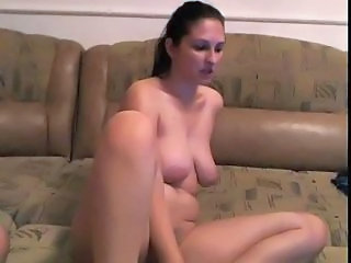Masturbating MILF SaggyTits Webcam