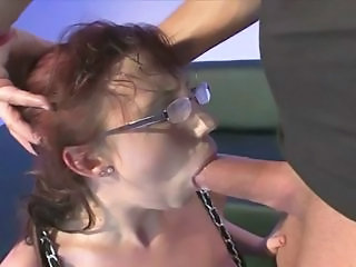 Deepthroat Glasses Hardcore Mature Redhead