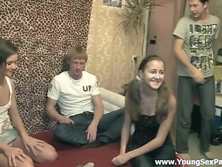 Groupsex Homemade Party Russian Teen