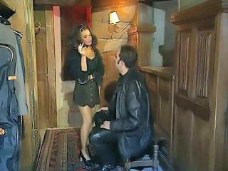 European French MILF Smoking Vintage
