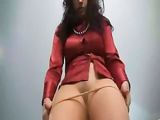 German MILF Pantyhose Stripper