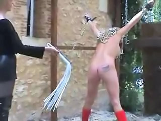 Bdsm Bondage Outdoor Pain Slave Spanking